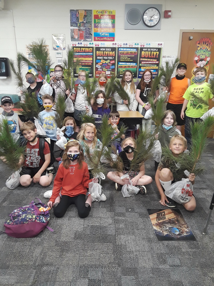 Fourth Graders celebrated Arbor Day!